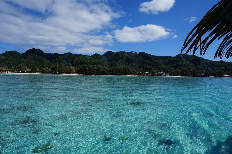 landscape rarotonga cook island