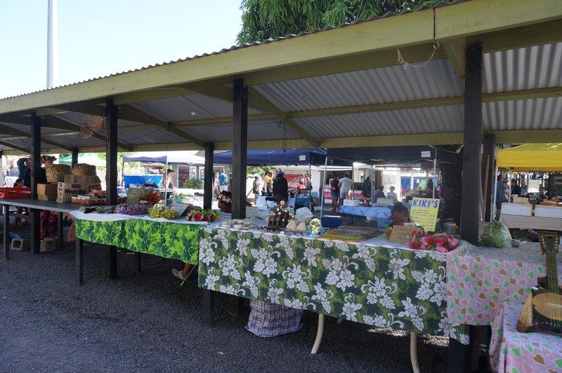 market cook island