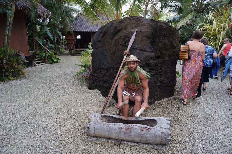 maori village rarotonga cook island