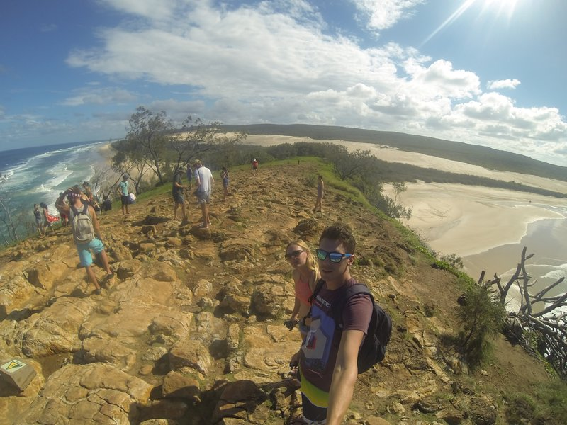 fraser island lookout